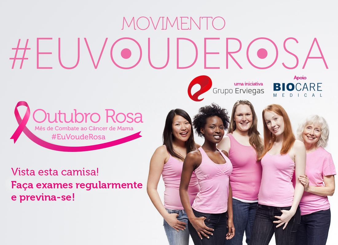 Outubro Rosa 2016 Campanha