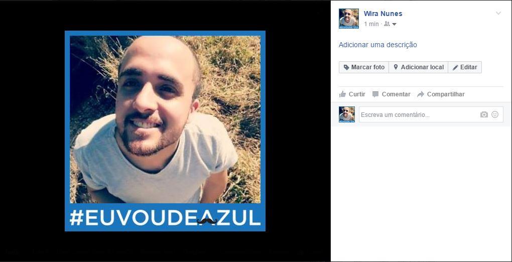 Facebook Novembro Azul 2016