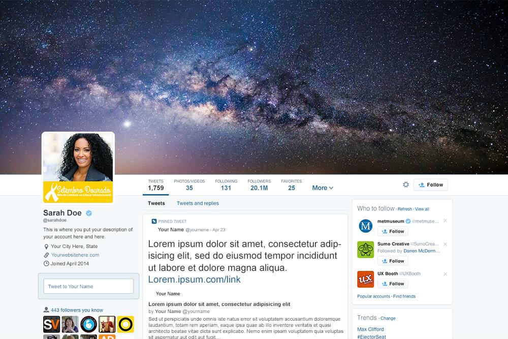 twitter-setembro-dourado-template